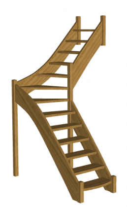 Лестница для дома «Восток-Элегант» Г-760-19