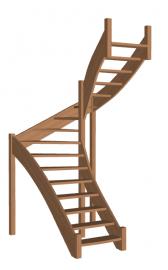 Лестница «Восток-Элегант» П-950-21