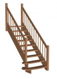Лестница «Восток-Элегант» ПМ-950-03