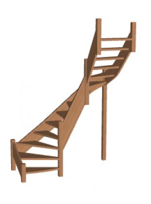 Лестница «Восток-Элегант» П2-790-30
